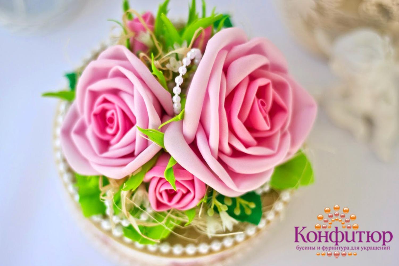 Цветы из фоамирана своими руками фото фото 473